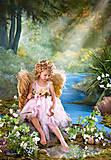 Пазл Castorland на 1500 деталей «Ангел у золотого пруда», 0908