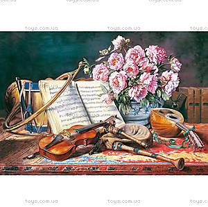 Пазл Castorland на 1500 деталей «Натюрморт для музыканта», 1240
