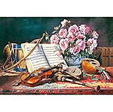 Пазл Castorland на 1500 деталей «Натюрморт для музыканта», 1240, фото