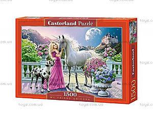 Пазл Castorland на 1500 деталей «Мой друг единорог», 1301, купить