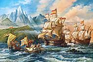 Пазл Castorland на 1500 деталей «Приключения в Новом Свете», 13, фото