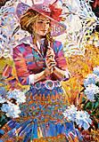 Пазл Castorland на 1500 деталей «Девушка с ажурным зонтом», 1363