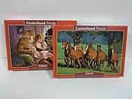 Пазлы Castorland на 1500 деталей, 1500к, отзывы