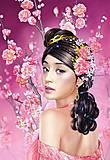 Пазл Castorland на 1500 деталей «Девушка в розовом», 694