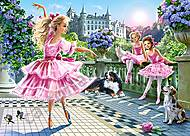 Пазл Castorland на 180 деталей «Балерины», 222, фото