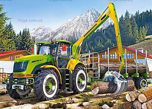 Пазл Castorland на 180 деталей «Лесовоз», В-018055, купить