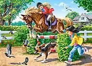 Пазл Castorland на 180 деталей «Верховая езда», В-018079, отзывы