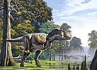 Пазл Castorland на 180 деталей «Мир динозавров», В-018109, отзывы