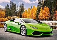 Пазл Castorland на 180 деталей «Lamborghini Huracan», В-018154