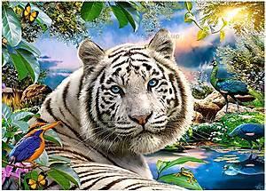 Пазл Castorland на 180 деталей «Тигр», В-018192