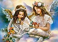 Пазл Castorland на 180 деталей «Два Ангела», В-018215, купить