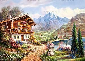 Пазл Castorland на 2000 деталей «Уединение в горах», 511