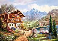 Пазл Castorland на 2000 деталей «Уединение в горах», 511, фото