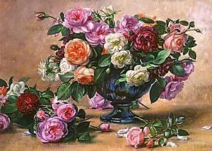 Пазл Castorland на 2000 деталей «Цветы в вазе», 412