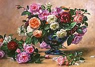 Пазл Castorland на 2000 деталей «Цветы в вазе», 412, купить