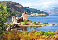 Пазл Castorland на 2000 деталей «Замок Eilean Donan, Шотландия», С-200016