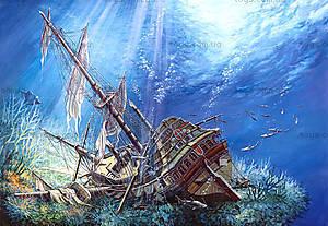 Пазл Castorland на 2000 деталей «Поражённый галеон», С-200252