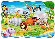 Пазл Castorland maxi на 20 деталей «Африканские животные», 276, купить