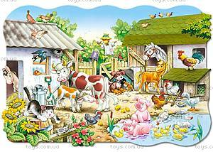 Пазл Castorland maxi на 20 деталей «Ферма», С-02214