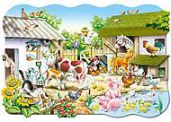 Пазл Castorland maxi на 20 деталей «Ферма», С-02214, купить