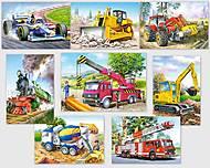 Пазл Castorland на 24 детали «Автотехника», А-02405-ВМ, отзывы