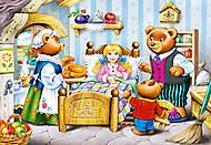 Пазл Castorland на 260 деталей «Маша и Медведи», 26333