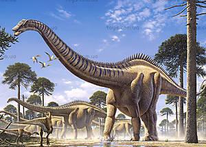 Пазл Castorland на 260 деталей «Эра динозавров», В-27262
