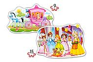Пазл Castorland 2хContour «Бал принцесс», 034, фото