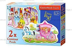 Пазл Castorland 2хContour «Бал принцесс», 034, купить