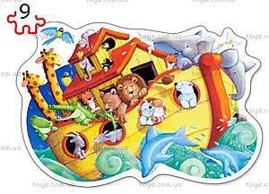 Пазлы Castorland 2хContour «Ноев ковчег», В-020089, цена