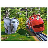 Пазл Castorland на 30 деталей «Чаггингтон. Поезд и слон», 214л