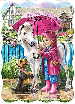 Пазл Castorland на 30 деталей «Дождливый день», 426