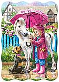 Пазл Castorland на 30 деталей «Дождливый день», 426, отзывы