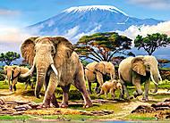 Пазл Castorland на 300 деталей «Утро в Килиманджаро», 019, фото