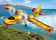 Пазл Castorland на 300 деталей «Пожарный самолет», 026, отзывы