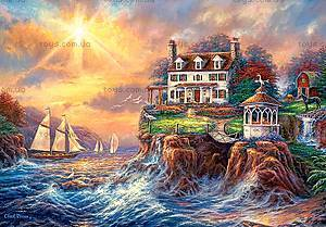 Пазл Castorland на 3000 деталей «Дом на берегу», 372