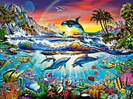 Пазл Castorland на 3000 деталей «Райская бухта», 396, фото