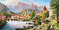 Пазл Castorland на 4000 деталей «Город в тени гор», 058, отзывы