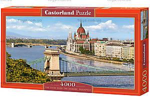 Пазл Castorland на 4000 деталей «Вид на Дунай. Будапешт», 126, купить