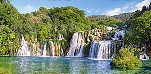 Пазл Castorland на 4000 деталей «Водопады Крка, Хорватия», 133