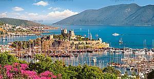Пазл Castorland на 4000 деталей «Bodrum Marina. Турецкая ривьера», С-4001