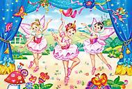 Пазл Castorland maxi на 40 деталей «Балерины», 056, фото