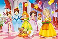 Пазл Castorland maxi на 40 деталей «Вечеринка принцесс», 162, фото