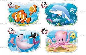 Пазлы Castorland 4х1 «Подводный мир», В-043026