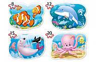Пазлы Castorland 4х1 «Подводный мир», В-043026, фото