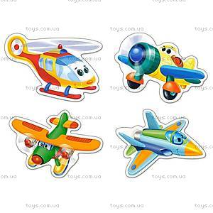 Пазл Castorland 4х1 «Смешные самолеты», 5048