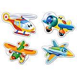 Пазл Castorland 4х1 «Смешные самолеты», 5048, фото