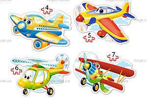 Пазл Castorland 4х1 «Самолеты», 447