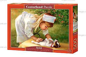 Пазл Castorland на 500 деталей «Маленькая медсестра», 2004, купить