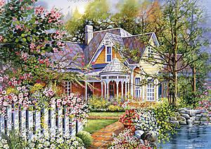 Пазл Castorland на 500 деталей «Загородный дом», В-51878